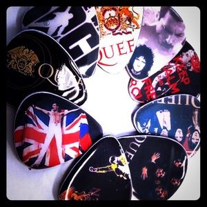 Queen vinyl guitar picks